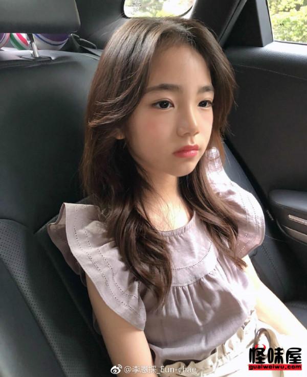 韩国6岁小萝莉eun-chae个人资料ins账号生活照 系儿童模特